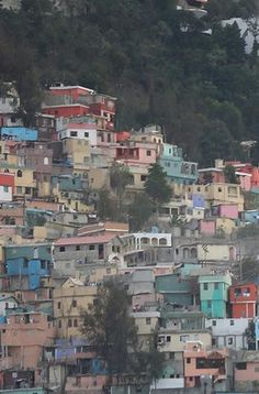 I've only been to Haiti once. This is the capital of Haiti, Port-au-Prince. Haiti is the poorest country in the western hemisphere. Most of the population lives in poverty and their homes are shacks. I would like to go back someday and help out the Haitian people by building houses.