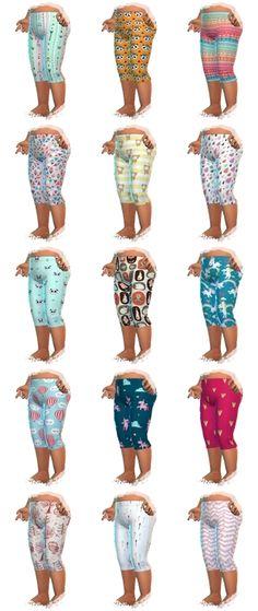 Toddler Leggings - ChiLLis Sims