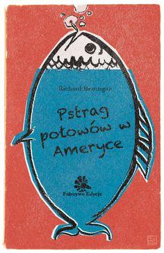 Pesca da Truta na América, edição polaca | Designer: Reg Mastice