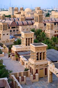 Madinat Jumeirah wind towers