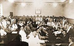 Primeira Assembleia do Banco Brasileiro de Descontos S.A., em Marília - 1944