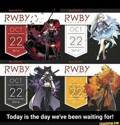 Today is the day we've been waiting for!