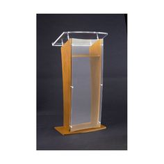 FREE SHIPPING! Shop Wayfair for AmpliVox Sound Systems Acrylic Panel Full Podium - Great Deals on all Educational products with the best selection to choose from!