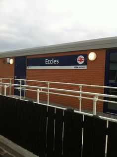 Eccles new looking train station #eccles #train #manchester