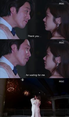 Fated to Love You - Jang Hyuk, Jang Nara. I don't care how many times I've pinned this scene, I'll keep on pinning it because I love this drama!