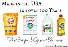 The Original Green Cleaners: Made in America for Over 100 Years