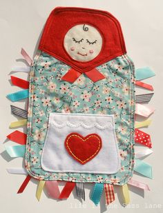MATRYOSHKA+Ribbon+Tag+Baby+Blanket+in+by+LifeInTheSassLane+on+Etsy,+$22.00