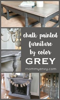 Chalk Painted Furniture By Color Series - GREY