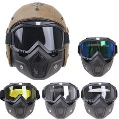 Motorcycle Accessories & Parts Official Website Sai Yu Ski Bike Motorcycle Face Mask Goggles Motocross Eyewear Motorbike Open Face Detachable Goggle Helmets Vintage Glasses Handsome Appearance