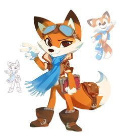 Super Lucky's Tale comes out next month for XBOX and PC! I got to work with Playful Corp on some marketing art, as well as a little concept design (Lucky's older sister, and the pop-up book)- it was good fun and a cool opportunity to interpret other peoples' character designs and hone my styling :) Start to finish on the iPad Pro!