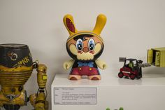 PINOCCHIO customized by WUZONE ...EXHIBITION by ART TOY GAMA Collective IN GKO GALLERY SPAIN 2014 - NOVEMBER -Organized by Art Toy Maison - #KIDROBOT #PINOCCHIO #CUSTOMTOYS #VINYLTOYS #DESIGNERTOYS #ARTTOYS #ARTTOYSPAIN