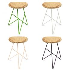 Stools via Greatly via Simply Grove