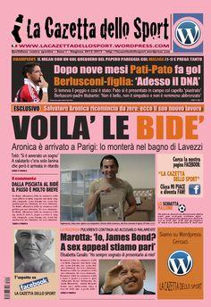 La COPERTINA DEL 07.11.2012