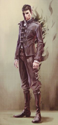 dishonored daud concept art - Поиск в Google