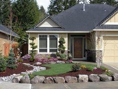 Front-yard-landscape (69) #landscapingideas