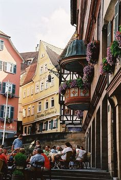 Stocherkahnrennen Tübingen