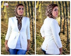 Women's Casual Blazers with hijab | Just Trendy Girls
