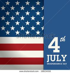 Stock Images similar to ID 284868422 - 4th july vector design