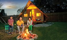 Check out where you can go glamping in Western Canada.