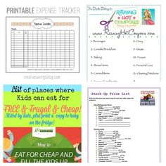 10 Free Printables to Save You Money + 10 More- A Cultivated Nest - These 15 free printables will save you money and keep your financial life organized. They're a must for any budget binder! Life Organization, Organizing, Toddler Canopy Bed, Expense Tracker, Budget Binder, Read Later, Save Your Money, Frugal, Save Yourself