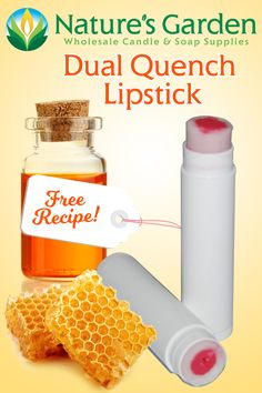 Free Dual Quench Lipstick Recipe by Natures Garden