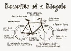 If you need to cover long distances, fair enough drive, but check out these reasons why cycling is awesome!