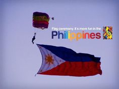 FLAG Ceremony. More FUN in the Philippines!
