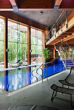 Indoor swimming pool luxus  luxus pool für den garten einen luxus pool bauen | Luxuriöse ...