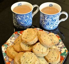 . Try with Jules flour. Mary Berry's Lavender biscuits - CountryWives