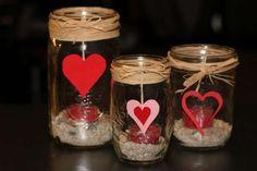 Resultado de imagen para frascos decorados