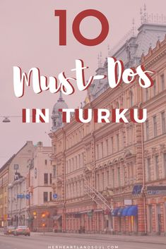 The top 10 fun things to do in Turku. Must-dos in Turku include eating, shopping, hiking, going to the sauna, and exploring the riverfront! Finland Destinations, Holiday Destinations, Travel Destinations, Finland Summer, Turku Finland, Finland Travel, Best Cruise, Summer Bucket Lists, Canada Travel