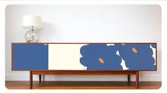Upcycled Vintage Sideboard alternative colour by ResurfaceDesigns