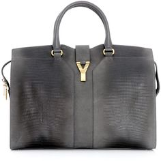 Yves Saint Laurent Cabas Chyc bag (1,995 CAD) found on Polyvore