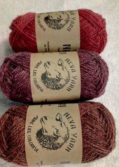 TRIO sock yarn set of 3x50g 100% WOOL YARN Great for knitting
