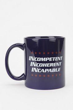 Comedy Central's Indecision 2012 Mug