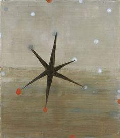 Norbert Schwontkowski Ungenauer Stern Oil on canvas, 150 x 130 x cm 2006 Abstract Pattern, Abstract Art, Graphic Prints, Art Prints, Art Thou, Art Friend, Oeuvre D'art, Painting Inspiration, Art Images