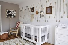 Arrow Accent Wall Nursery
