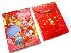 【2010】【New Year】Red Pocket (Manufacturer: ELLON Hong Kong) ★Little Twin Stars★