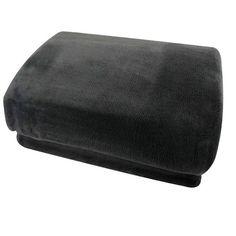 Fleece deken XXL 240x220cm grijs