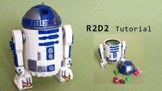 Star Wars R2-D2 Polymer Clay Tutorial