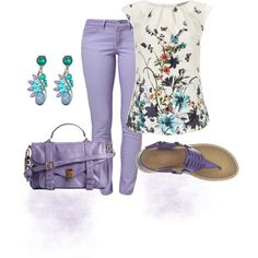 """A Little Lavendar"" by sheree-314 on Polyvore"