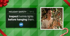 Determine a potential #firehazard before it becomes a problem. #StaySafe #Holiday #FirePrevention #ADT