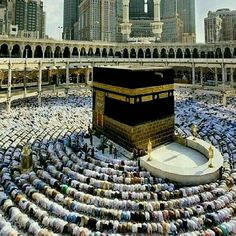 """Salat inside Masjidul Haram is greater than 100,000 salat performed in any other Masjid.""  ___ Imam Muhammad al-Baqir (as), Bihar ul-Anwar V. 96, P.241"