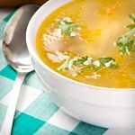 Chicken, Sage and Ham Soup - Net Carbs: 2.2