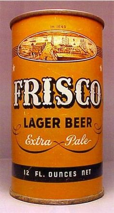 Frisco Lager Beer , F.T