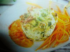 sformatini di verdure - sedano rapa e spinaci