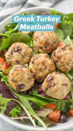Healthy Turkey Recipes, Gluten Free Recipes, Chicken Recipes, Chicken Meals, Healthy Cooking, Healthy Eating, Cooking Recipes, Turkey Meatballs, Eat Smart