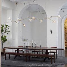 Lindsey Adelman :: 10-globe Branching Bubble chandelier
