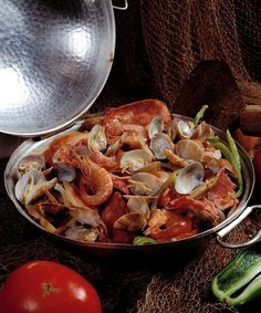 #Seafood Cataplana  (Portugal)   recipe