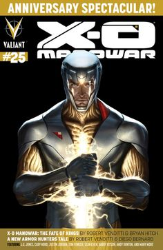 X-O Manowar #25 - The Fate of Kings; Burial; Shanhara's Day Off; Battle For the Ages (Issue)